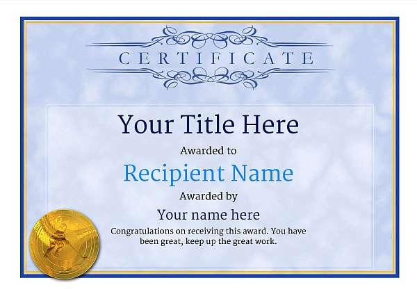certificate-template-ice-hockey-classic-1bimg Image