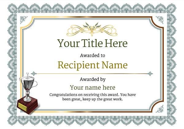 free ice hockey certificate templates add printable