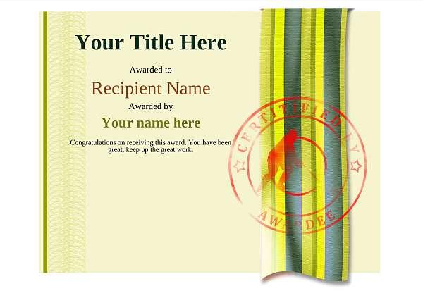 certificate-template-ice-hockey-modern-4yisr Image