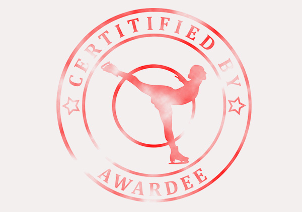 certificate-template-ice-skating-modern-3-grey-bisr Image