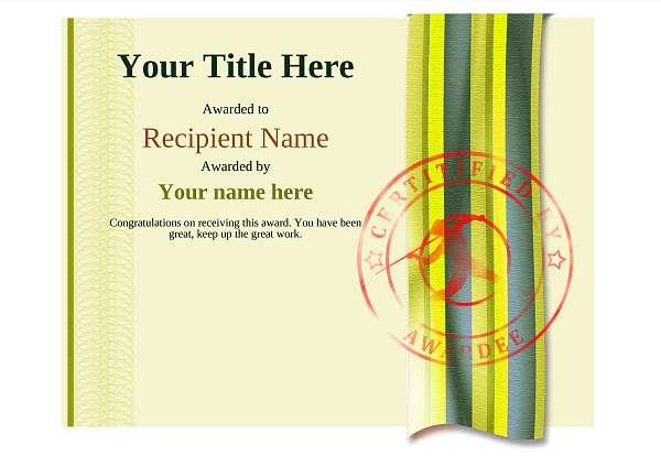 certificate-template-javelin-modern-4yjsr Image