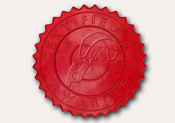 certificate-template-kite-surfing-modern-3-grey-gksr Image