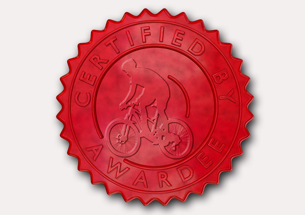 certificate-template-mountain-bike-classic-2-grey-bmsr Image