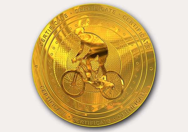 certificate-template-mountain-bike-modern-1-grey-gmmg Image