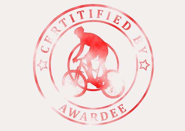 certificate-template-mountain-bike-modern-3-grey-bmsr Image
