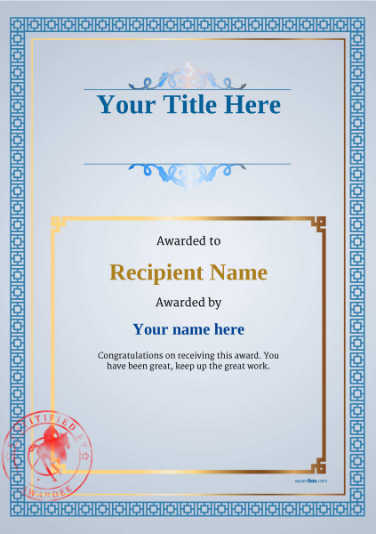certificate-template-polo-classic-5bpsr Image