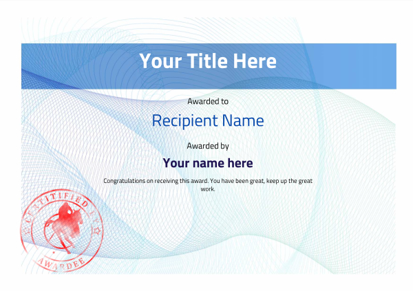 certificate-template-polo-modern-3bpsr Image