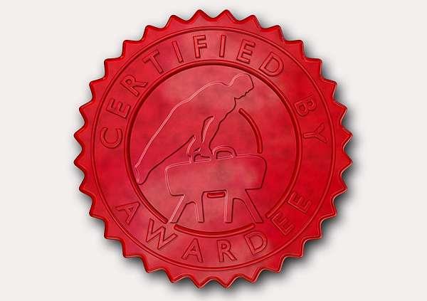 certificate-template-pommel-classic-2-grey-bpsr Image
