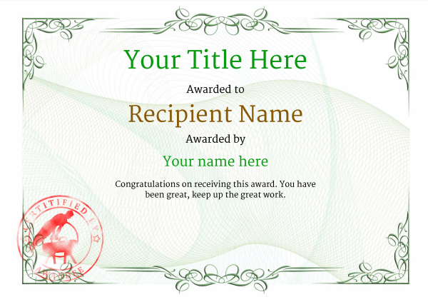 certificate-template-pommel-classic-2gpsr Image