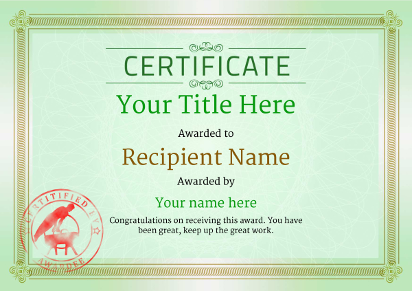 certificate-template-pommel-classic-4gpsr Image