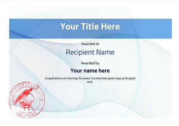 certificate-template-pommel-modern-3bpsr Image