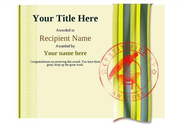 certificate-template-pommel-modern-4ypsr Image