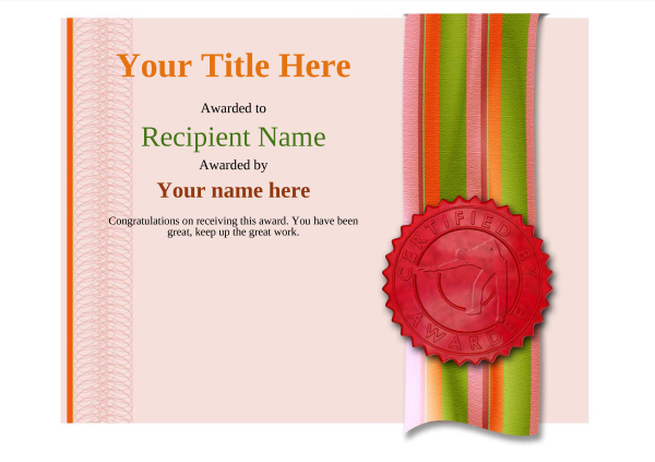 certificate-template-pool-snooker-modern-4rpsr Image