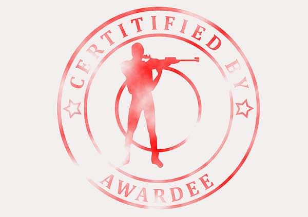 certificate-template-rifle-shooting-modern-3-grey-brsr Image