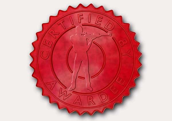 certificate-template-rifle-shooting-modern-4-grey-rrsr Image