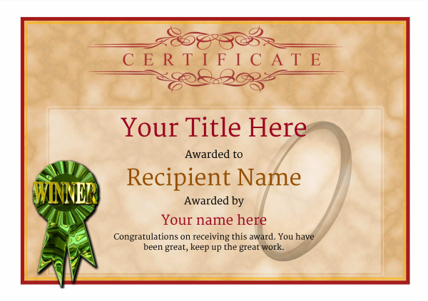 certificate-template-rugby-classic-1dwrg Image
