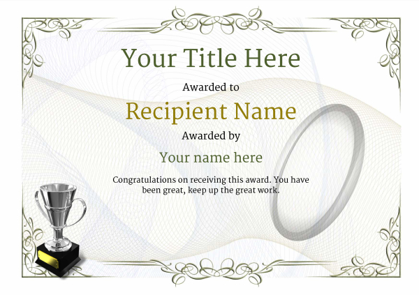 certificate-template-rugby-classic-2dt4s Image