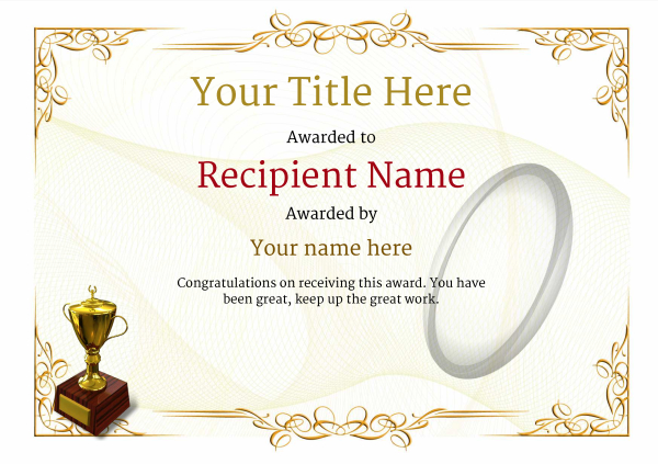 certificate-template-rugby-classic-2yt2g Image