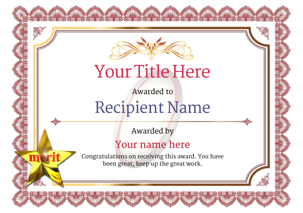 certificate-template-rugby-classic-3rmsn Image