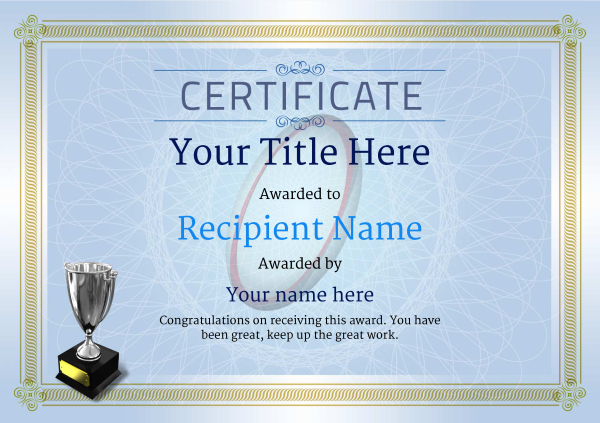 certificate-template-rugby-classic-4bt5s Image