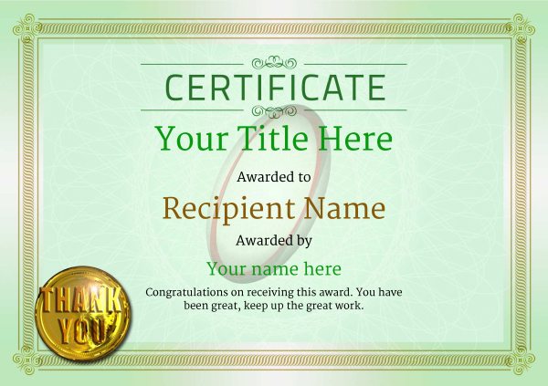certificate-template-rugby-classic-4gtmg Image