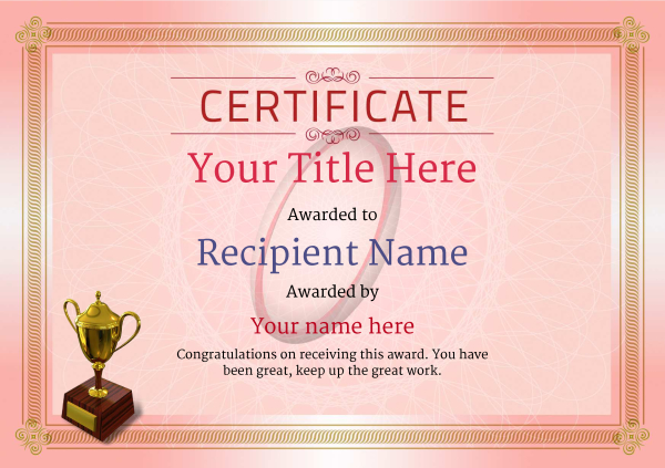 certificate-template-rugby-classic-4rt3g Image