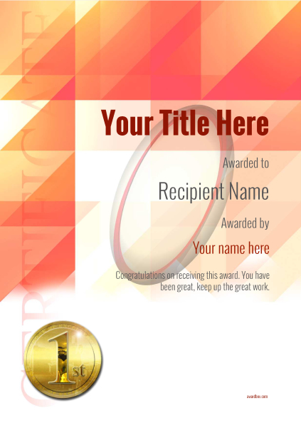certificate-template-rugby-modern-2r1mg Image