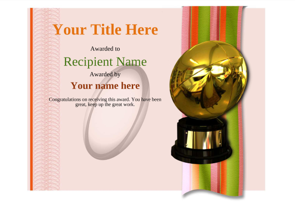 certificate-template-rugby-modern-4rrbg Image