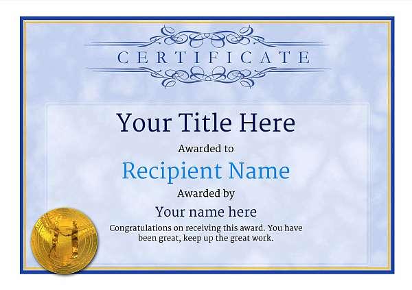 certificate-template-rumba-classic-1brmg Image