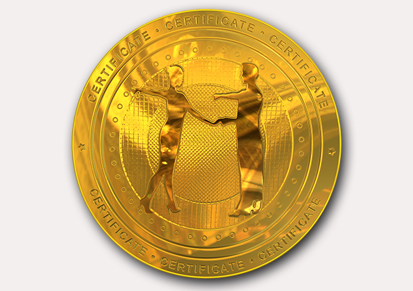 certificate-template-rumba-modern-2-grey-brmg Image