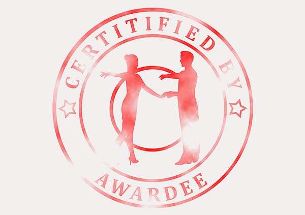 certificate-template-rumba-modern-3-grey-brsr Image
