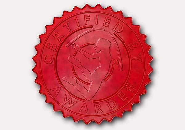 certificate-template-rythmic-gymnastics-classic-2-grey-brsr Image