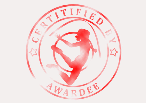 certificate-template-rythmic-gymnastics-classic-5-grey-brsr Image