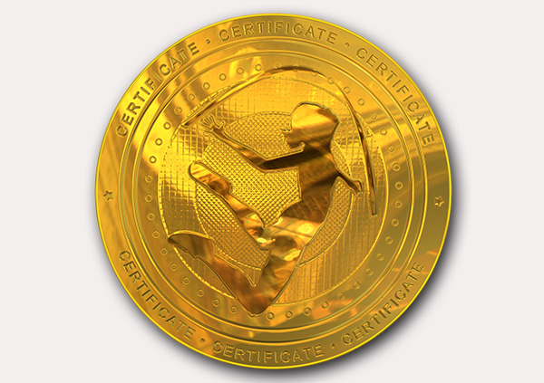 certificate-template-rythmic-gymnastics-modern-1-grey-grmg Image