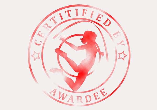certificate-template-rythmic-gymnastics-modern-3-grey-brsr Image