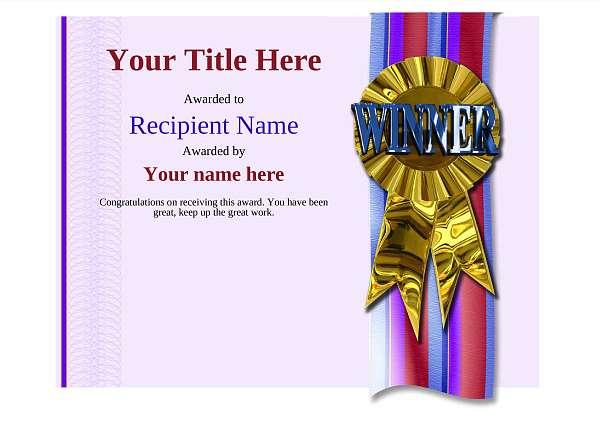 certificate-template-rythmic-gymnastics-modern-4dwrg Image