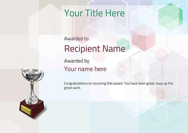 certificate-template-rythmic-gymnastics-modern-5dt6s Image