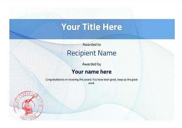 certificate-template-skateboard-modern-3bssr Image