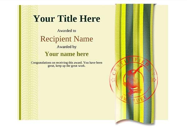 certificate-template-skateboard-modern-4yssr Image