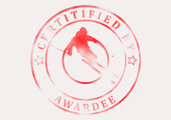 certificate-template-skiing-modern-3-grey-bssr Image