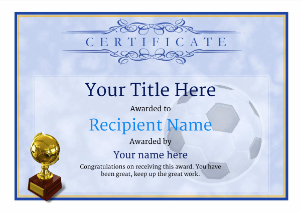 certificate-template-soccer-classic-1bstg Image