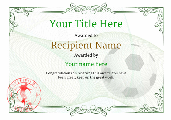 certificate-template-soccer-classic-2gssr Image
