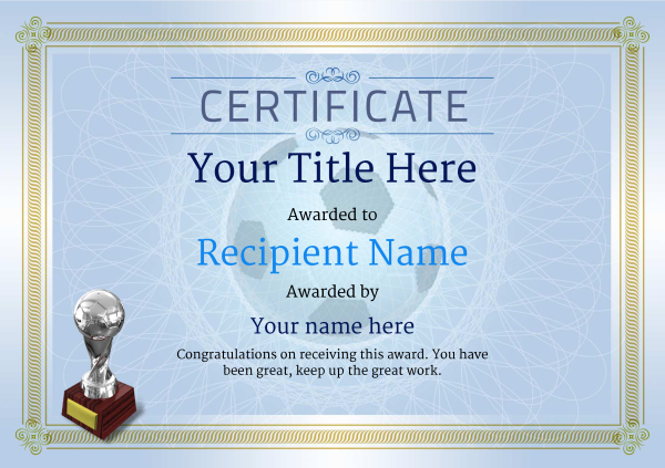 certificate-template-soccer-classic-4bsts Image