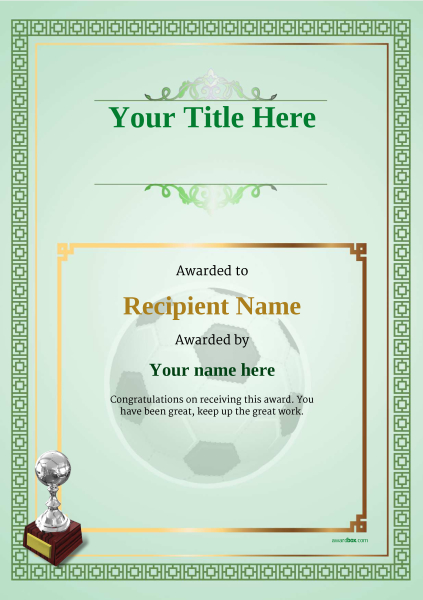 certificate-template-soccer-classic-5gsts Image