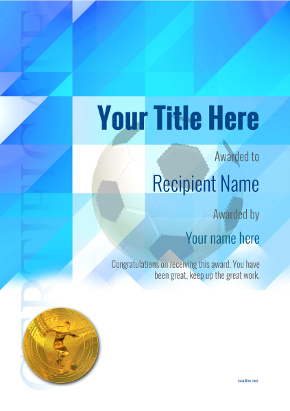 certificate-template-soccer-modern-2bsmg Image