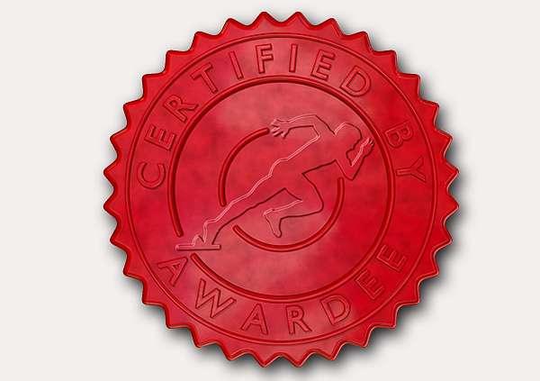 certificate-template-sprinting-modern-5-grey-dssr Image