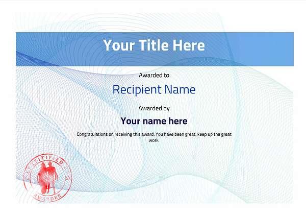 certificate-template-surfing-modern-3bssr Image
