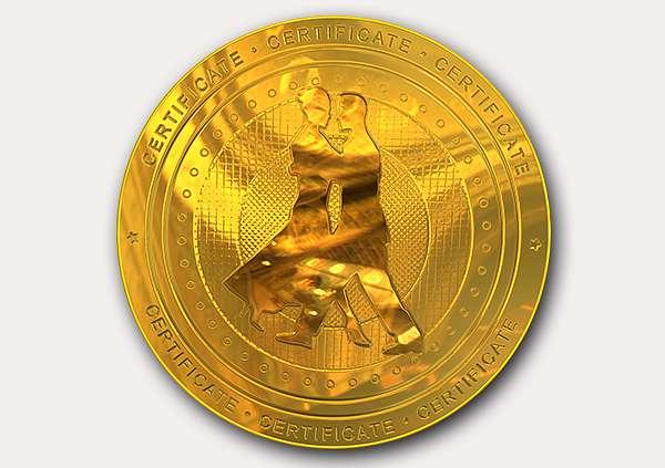certificate-template-tango-classic-1-grey-btmg Image