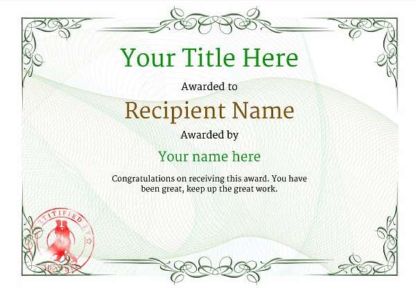 certificate-template-tango-classic-2gtsr Image
