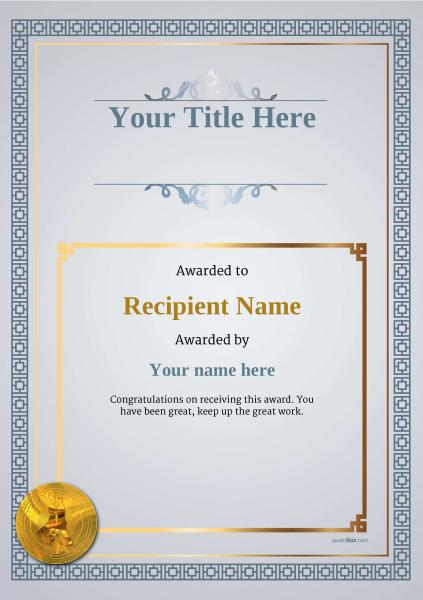 certificate-template-tango-classic-5dtmg Image